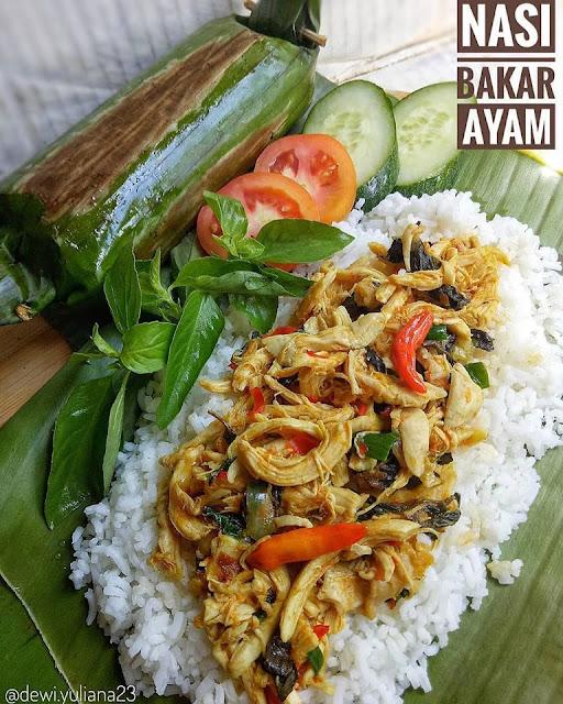 Resepi Nasi Bakar Ayam