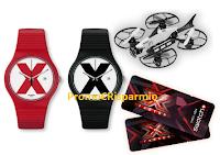 """Logo Concorso ''""""#SwatchThis'': vinci gratis 35 orologi The X-Vibe, 5 Droni e 10 coppie biglietti per X Factor"""