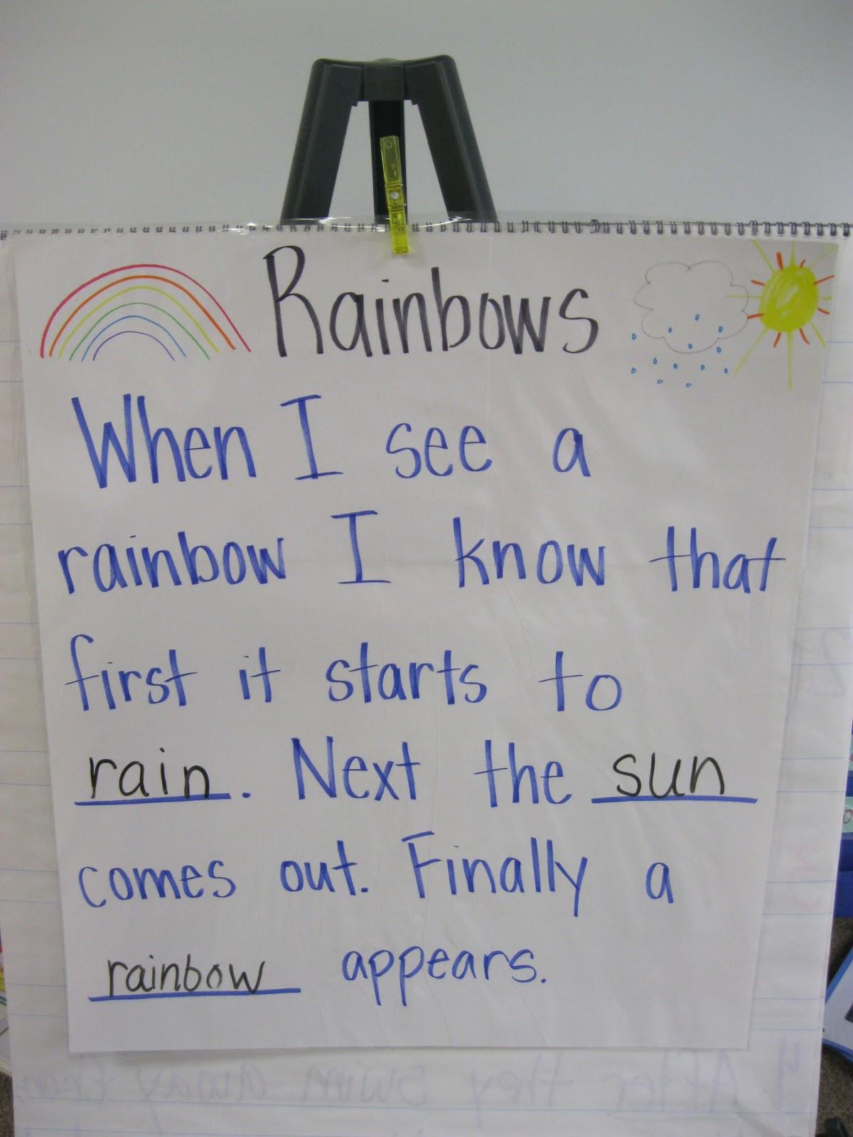 First Grade Fanatics Rainbow Fun
