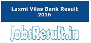 Laxmi Vilas Bank Result 2016