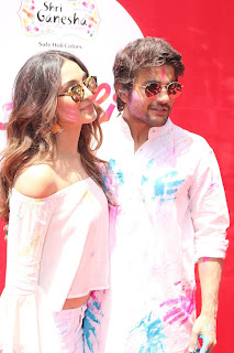 Bollywood and TV Show Celebs Playing Holi 2017   Zoom Holi 2017 Celetion 13 MARCH 2017 047.JPG