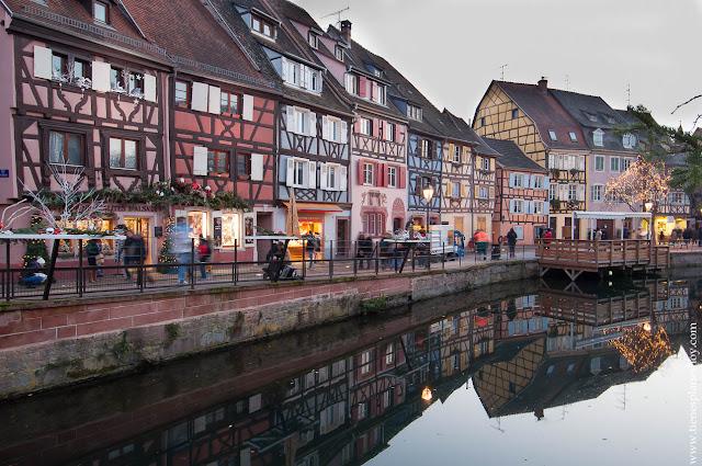 Colmar Alsacia Francia Viaje pequeña Venecia
