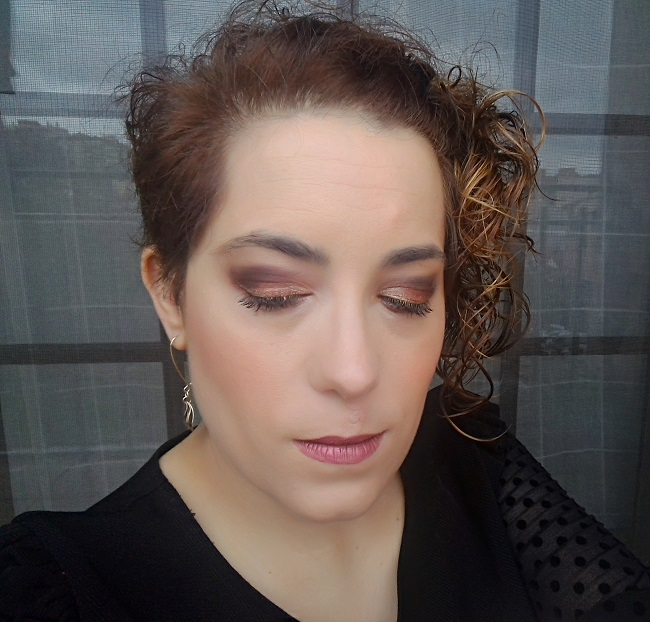 MAKE UP | Bronce metalizado de otoño