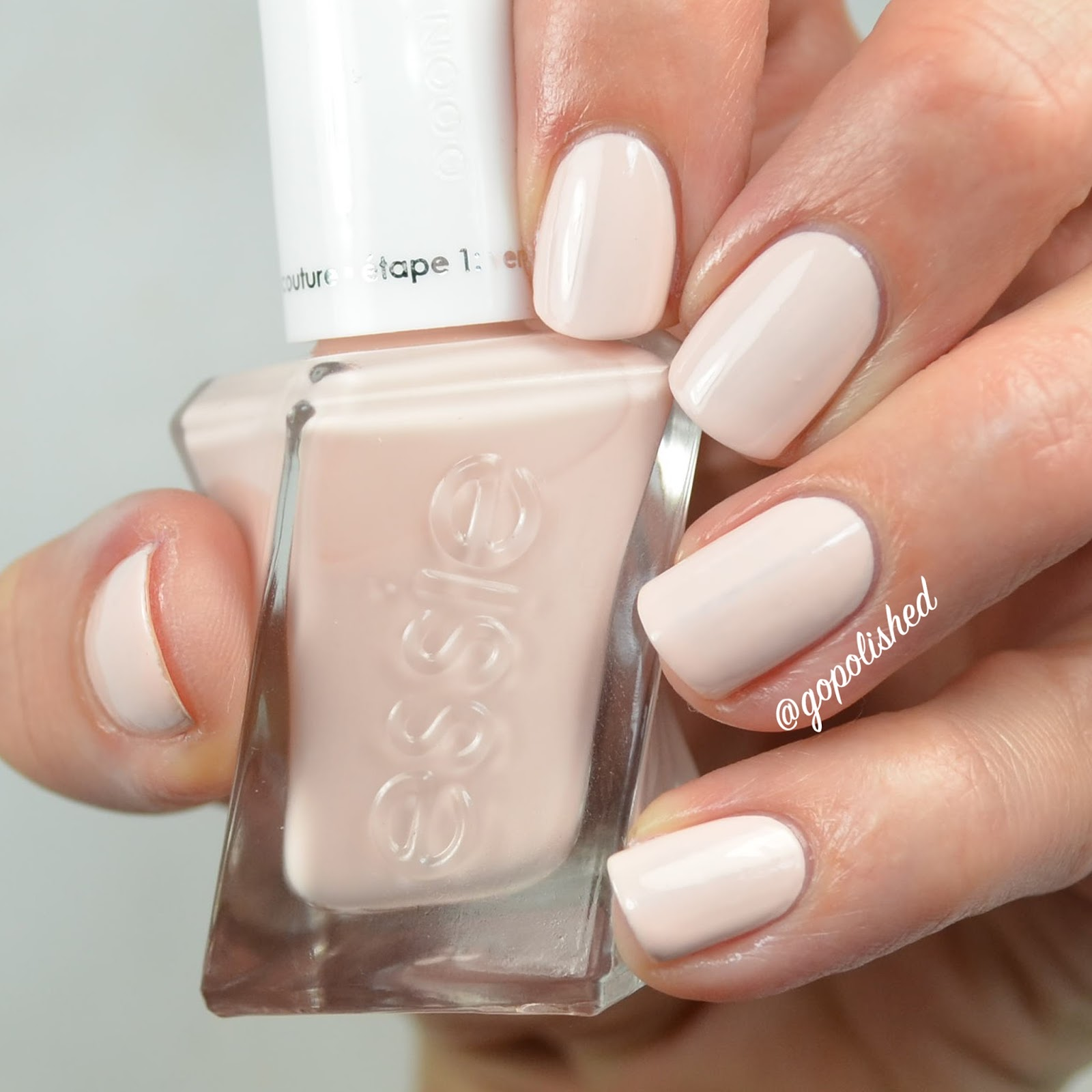 Essie Nail Polish Ballet Slippers Review - Creative Touch