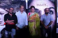 Bollywood Actress Raveena Tandon in Transparent Green Saree at Trailer Launch Of Film Maatr  0032.JPG