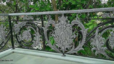 balkon besi tempa adalah pagar mewah