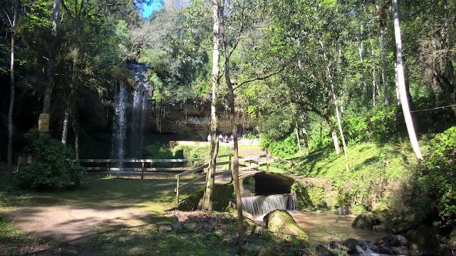 Cascata do Parque da Gruta