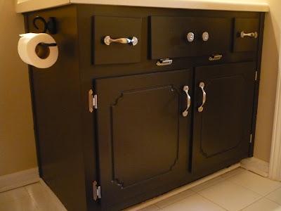 Jamie Leigh Bathroom Cabinet Redo