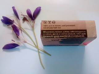 Product Review - Omved Kamalika Lotus Vetiver Soap