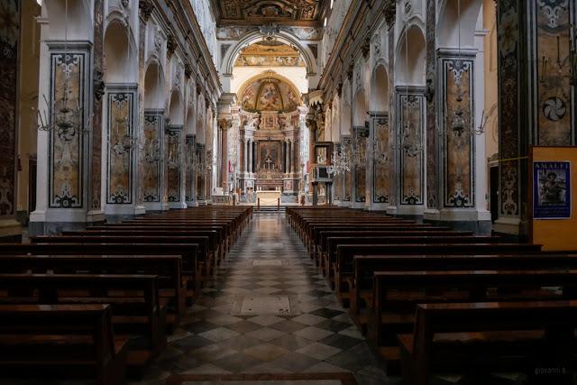 Interno del Duomo di Amalfi