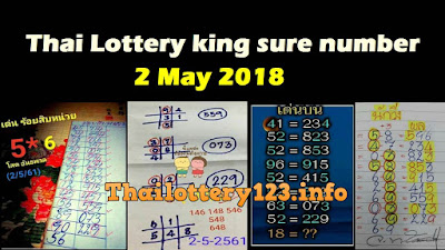 Thai Lottery king sure number