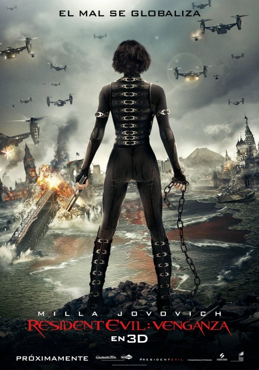 New Resident Evil Retribution Pictures And Poster And A Bonus
