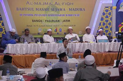 Forum Musyawarah Fiqhiyah Dalwa Undang 40 Pesantren Se-Jawa dan Madura