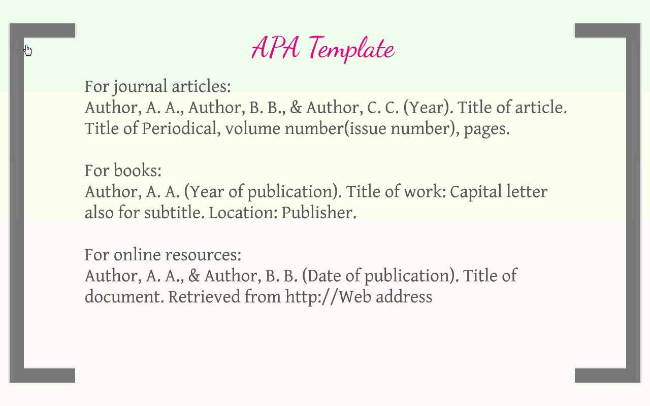 citing in apa format generator Cite anything and everything in apa format get the facts on citing and writing in apa format with our comprehensive guide formatting instructions, sample papers, and citation examples provide you with the tools you need to style your paper in apa.