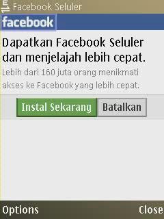 Facebook Seluler java Phoneky