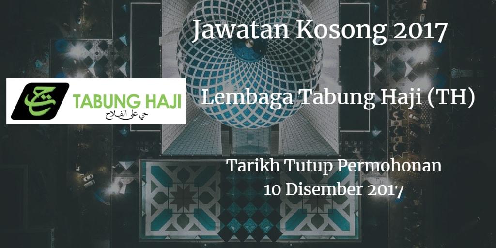 Jawatan Kosong Lembaga Tabung Haji (TH) 10 Disember 2017