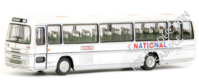 EFE PRE-PRO SAMPLE 29510 - Plaxton Panorama Bristol Dome - Tillings National Registration number PWC 345K, fleet number PL 9438. Is on tour in Switzerland. Scheduled for an August release -  RRP £34.50