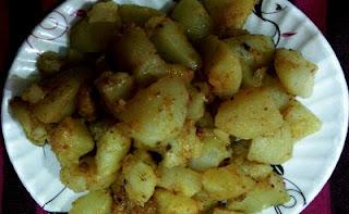 Masala Aloo recipe | Potato Masala recipe | How to prepare Masala Aloo?