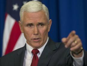 Vice dos EUA diz que 'acabou a paciência' com a Coreia do Norte