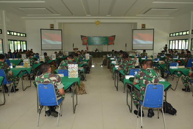 Tingkatkan Kinerja Aparat Intelijen, Divif 2 Kostrad Gelar Rakernis di Malang