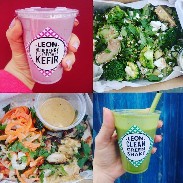 smoothies and salad boxes - Leon restaurants brighton