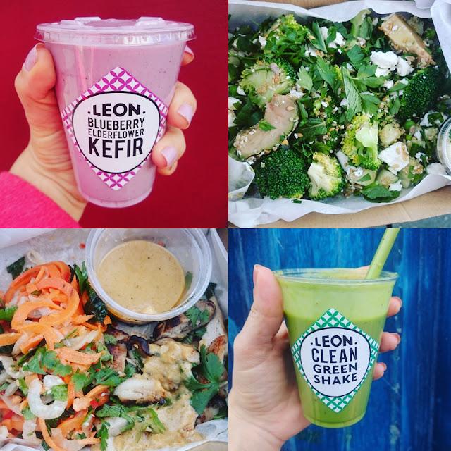 smoothies and salad boxes - Leon restaurants brighton