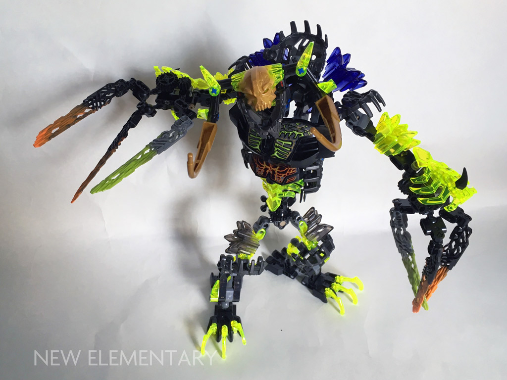 Ekimu And Umarak New Elementary A Lego Blog Of Parts Bionicle Skull Scorpio 70794 If You Wish To Make Even More Fearsome Has Released Instructions Combine With The Three Elemental Beast Sets Create An Larger