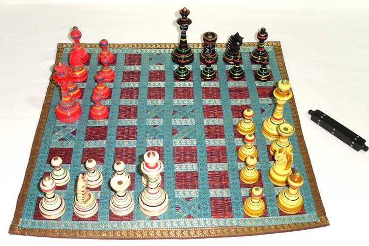 Permainan Tradisional India Cathuranga
