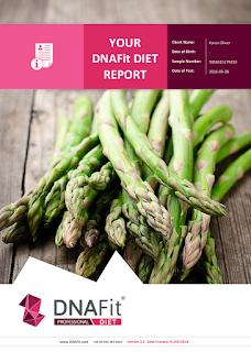 DNAFit Diet Report