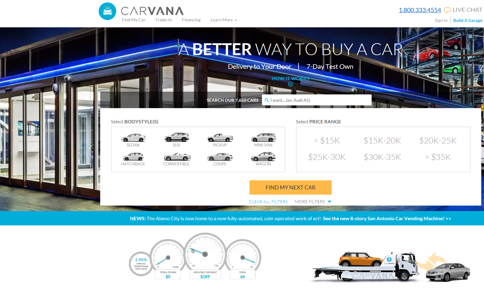 viva cindy our new van buying through carvana. Black Bedroom Furniture Sets. Home Design Ideas