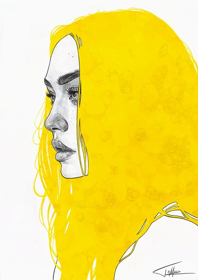"""Yellow V"" - Tomasz Mrozkiewicz 