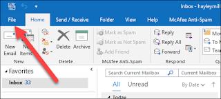 Cara Mematikan Peringatan Notifikasi Pesan Baru di E-mail