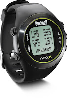 Bushnell NEO XS Golf GPS Rangefinder Watch, pre-loaded with 33,000+ golf courses worldwide, Auto Course Recognition, Auto Hole Advance, Play Golf Mode & Time Mode