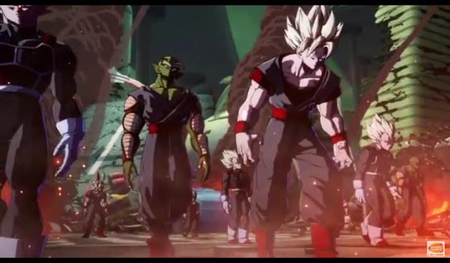 First screenshot from Dragon Ball FighterZ Story Mode trailer