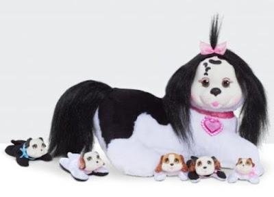 Беременная собачка Иви с щенками