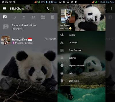 BBM MOD Panda Lucu v3.2.5.12 APK