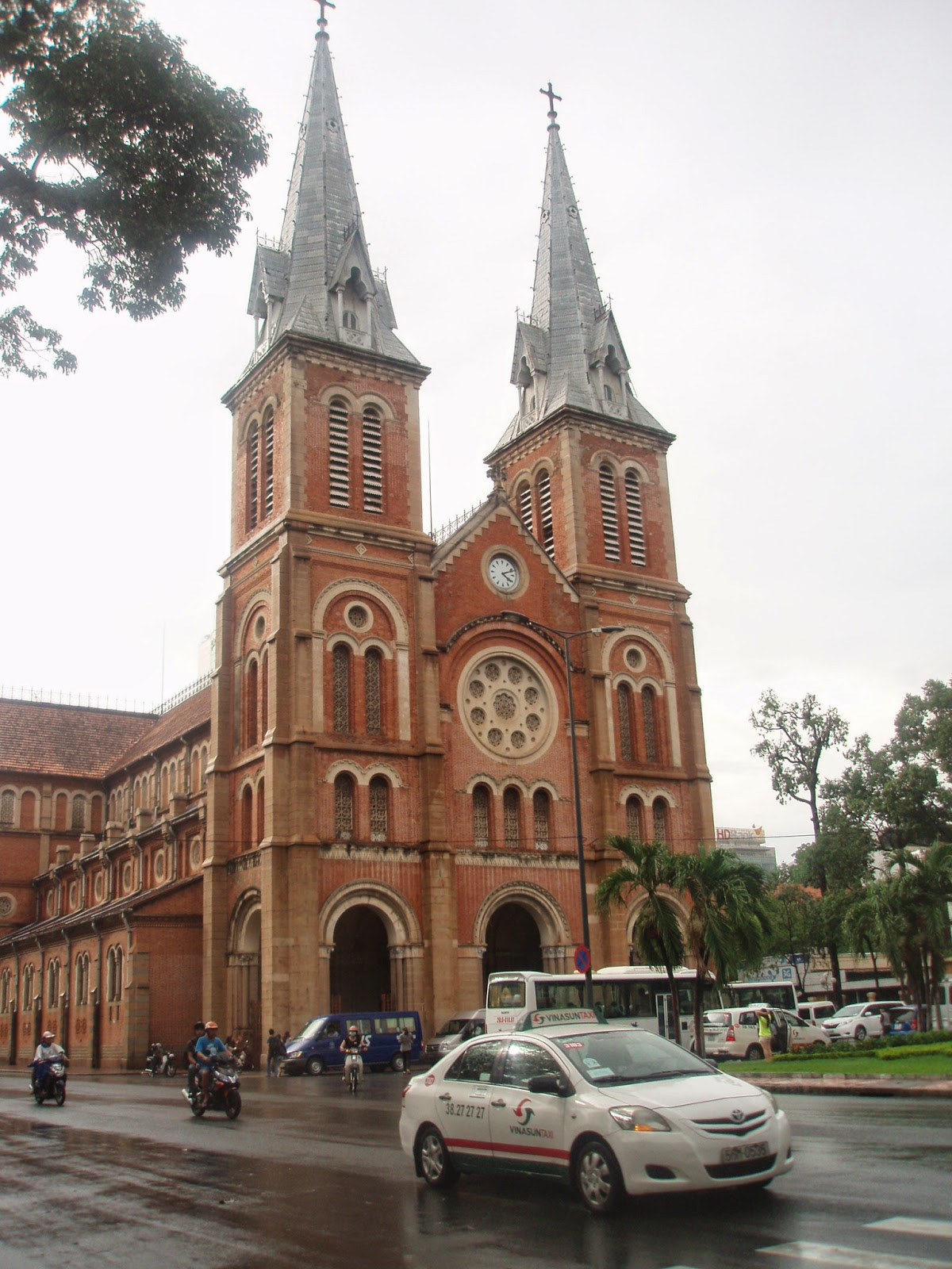 Notre Dame Cathedral in Ho Chi Minh City - District 1