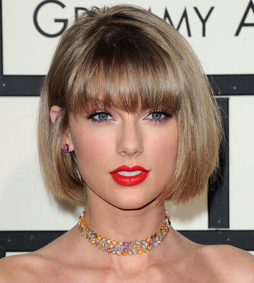Taylor Swift Bob cut