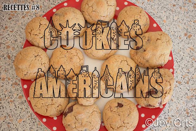 Cookies à l'américaine Choco-Noisette !