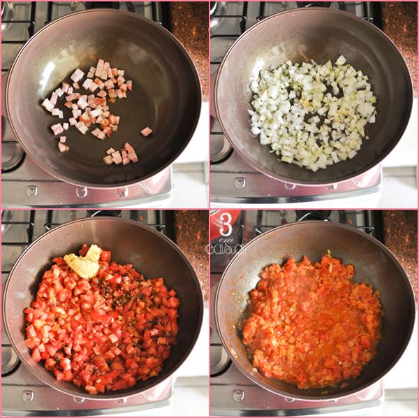 receita polenta com camarão
