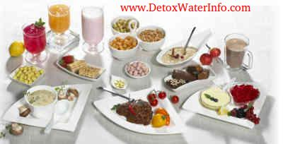 Healthy snacks for detox diet plan to lose weight