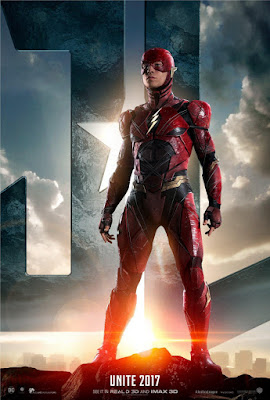 Justice League Character Movie Poster Set - The Flash