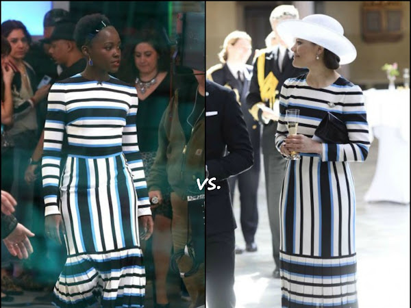 Lupita Nyong'o vs Crown Princess Victoria of Sweden