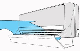 Acrylic AC Deflector