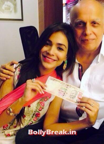 Humaima Malick and Mahesh Bhatt, Bollywood Eid Celebration Pics 2014