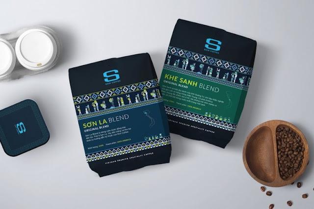 Shin Coffee - Thiết kế bao bì đậm chất dân tộc, in Hồng Hạc