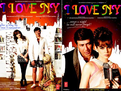 I LOVE NY (Official) Digital Motion Poster - Sunny Deol, Kangna Ranaut