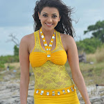 Kajal Agarwal New Hot Photos in Yellow Dress