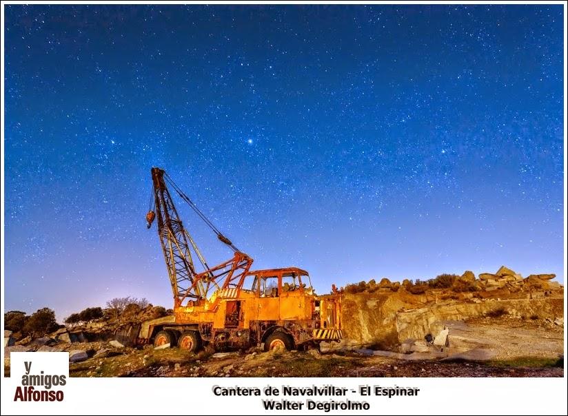 Cantera Navalvillar - El Espinar - Alfonsoyamigos