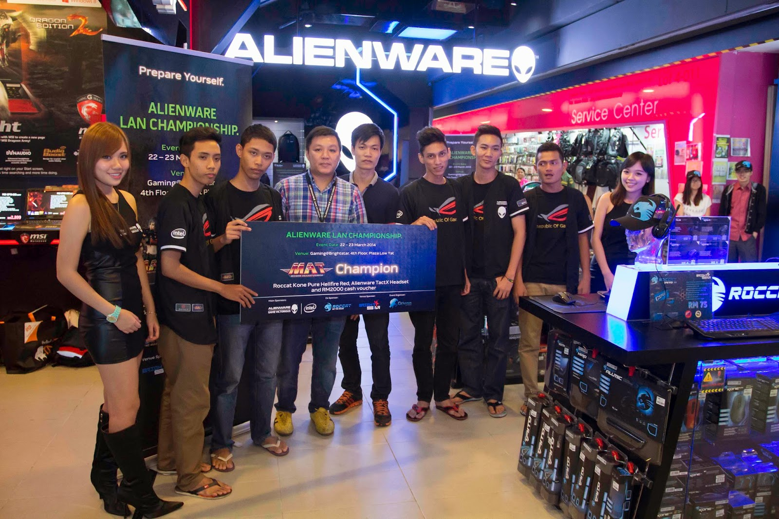 Malaysia's Leading Gamers Battle It Out at Alienware Tournament Alienware and Genysis Cyber E-sport Joined Forces for Alienware LAN Championship 14